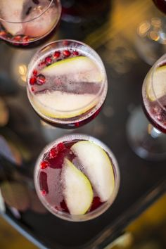 Winter Sangria recipe. This will give you a nice, cozy, warm feeling all over:)