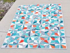 sparkler quilt by ericajackman, via Flickr