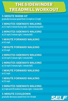 Boredom-Busting Treadmill Workout #SelfMagazine
