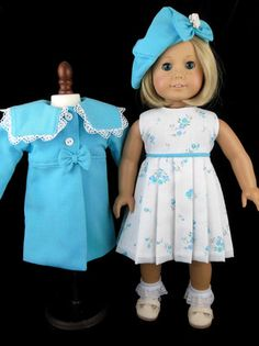 Coat, Dress ~Little Charmers Doll Designs* | eBay