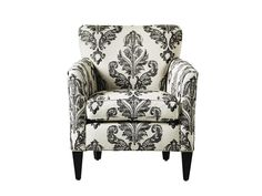 Damask-like patterned chair on Sabrina Soto's #HighLow list #hgtvmagazine http://www.hgtv.com/decorating-basics/sabrina-sotos-highlow-list/pictures/page-61.html?soc=pinterest