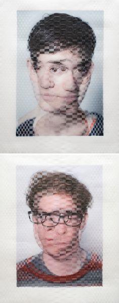 David Samuel Stern   Woven Photographs