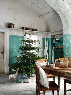 Rustic farm style / turquoise color