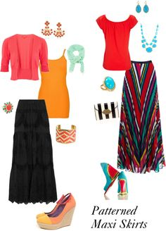 How to wear a maxi skirt. Patterned Maxi Skirts