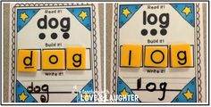 Teaching With Love and Laughter: Read it! Build it! Write it! {CVC Words Edition} and Magnetic Sound Box Answer Boards Giveaway!