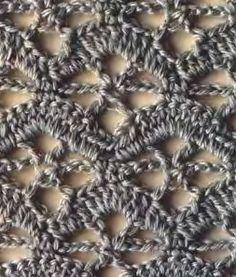 crochet stitch №170 - with diagram