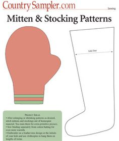 Mitten & Stocking Patterns