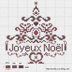 Noël point de croix /Christmas crossstitch on Pinterest | 203 Pins