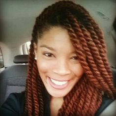 YARN TWIST / PROTECTIVE STYLES / NATURAL HAIR / HAIRSTYLE / HAIRDO