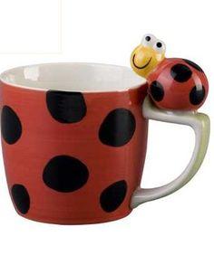 lucky bug coffe mug