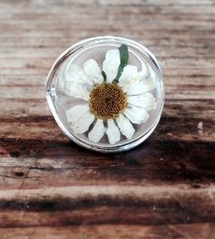 Daisy Sterling Silver Ring handmade by Fresh Jewelry Company