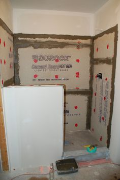 DIY Walk-In Shower: Step 3- Prep For Tile - DIYdiva