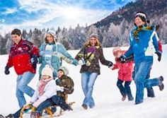 18 Outdoor Winter Activities for the family