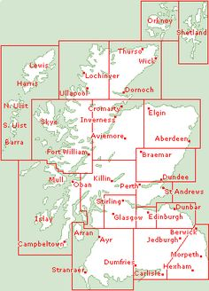 Clickable Map of Scotland... If you have any desire to travel to Scotland, check out this website!