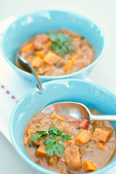 #Recipe: Sweet Potato Soup Recipe with a Peanut Butter Broth