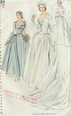 Simplicity 4084 A - Vintage Sewing Patterns