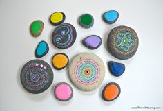 Painted rocks & stones