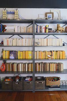 simple utility shelves.
