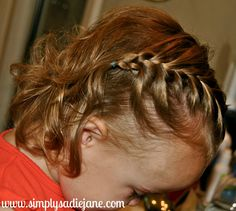 22 + adorable hair-do's for toddler/baby girls. Some of these hair styles are cute, others... :-/