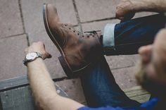 men styles, men boots, fashion blogs, casual styles, street styles, men fashion, brown boots, leather shoes, mens leather boots