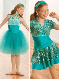 Dancing Crazy - Style 0353 | Revolution Dancewear All-in-One Dance Recital Costume