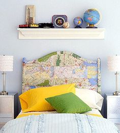 Decorating with Maps & Globes