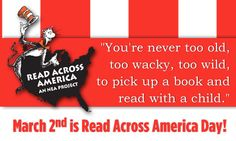 Read Across America Day!