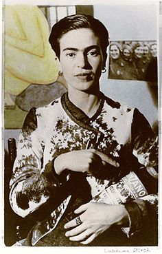 Frida Kahlo by Lucienne Bloch