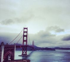 The Golden Gate Bridge in San Francisco, California. Classic San Francisco fog! golden gate bridge