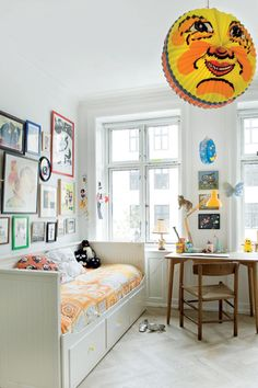 Cool bedroom for a boy!