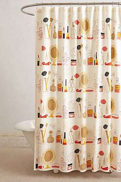 Cutest shower curtain ever!