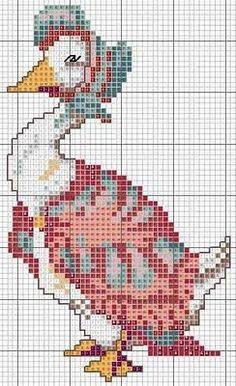 beatrix potter alphabet cross stitch patterns   ... För er som älskar Beatrix Potter och hennes fantastiska värld