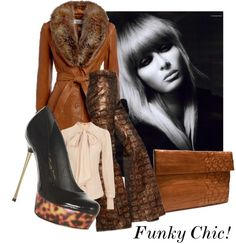 """Funky Chic !"" by the-house-of-kasin ❤ liked on Polyvore"