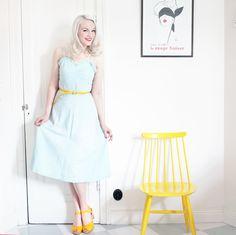 swedish hasbeens yellow heart skor by emmas vintage