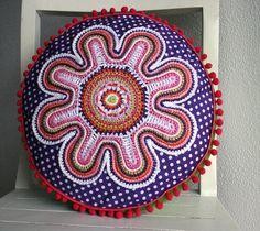the crochet flower  pattern from ATERGcrochet.