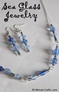 Sea Glass Jewelry DIY