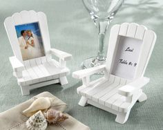 when #uPARTY for #wedding favours: adirondack chairs. sweet!