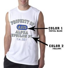 Property of Fraternity Athletic Workout T-Shirt $19.95 #Greek #Fraternity #GymClothes #BackToSchool #Clothing #Clothes #Apparel