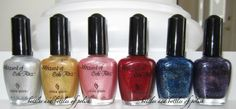 Way Back Wednesday: China Glaze Wizard of Ooh Ahz... the originals! ~ Bottles and Bottles of Polish