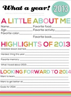 Help inspire creative resolutions using this New Year's Resolutions FOR KIDS! #NewYears #KidsActivities
