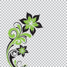 Transparent Flower Vector Graphic FREE