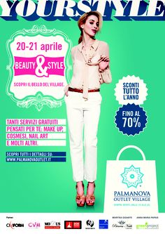 #Beauty & #Style @Palmanova Outlet