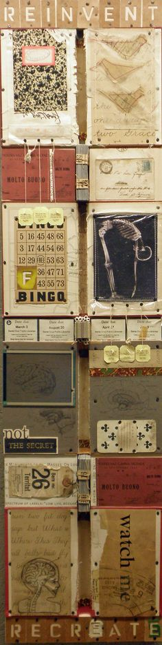 Collage/Assemblage Mixed Media by Wendy Aikin