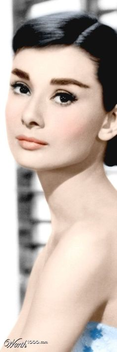 Iconic Audrey Hepburn  Real Women aspire to be her....