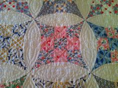 What a beautiful vintage quilt with a precious story behind it.