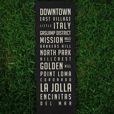neighborhood poster, squar market