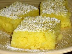 2 ingredient Lemon Bars - Angel Food Cake mix & Lemon Pie Filling = AMAZING (combine 21 oz pie filling and cake, place in greased pan and bake 30 min at 350).