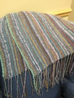 Took way too long to do and it's huge, but I love it!  Ravelry: BeachBabyMom's Unwind Wrap