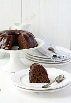 Chocolate and potato cake