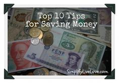 good advice on saving money budget, idea, financ, save money, top 10, saving money, money save, frugal live, coupon